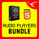 Responsive HTML5 Audio Player jQuery Plugins Bundle