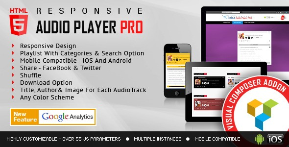 HTML5 Audio Player PRO - VC Add-on