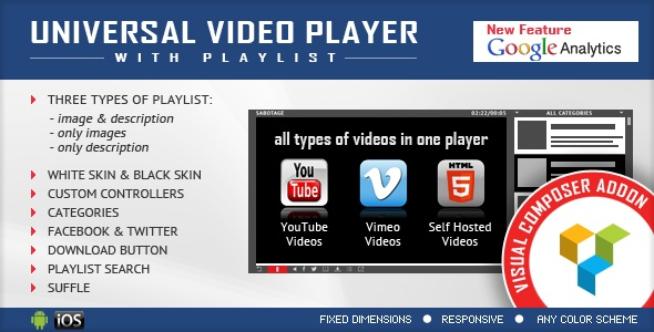 Universal Video Player VC Add-on
