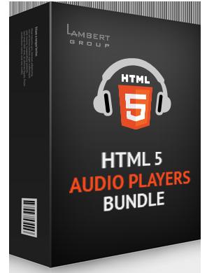 Big - HTML5 Audio Players jQuery Plugins Bundle