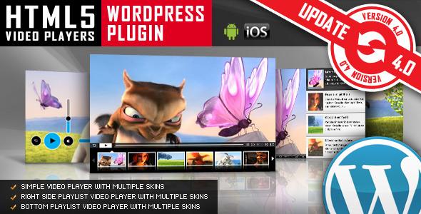 HTML5 Video Player WordPress Plugin