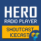 VC Addon – Hero – ShoutCast and IceCast Radio Player With History