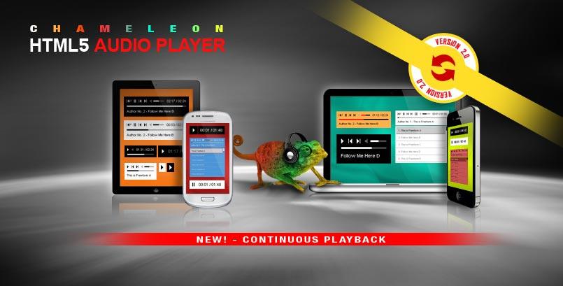 Playlist HTML5 Audio Player jQuery Plugin