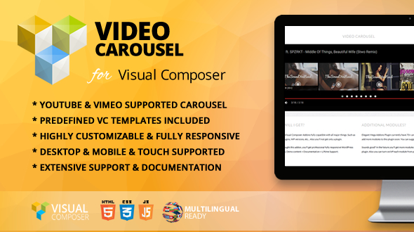 Video Carousel VC Add-on