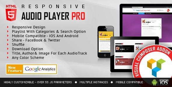 HTML5 Audio Player PRO - VC Add-on