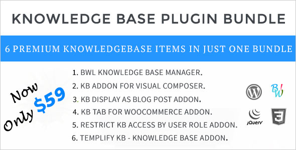 Knowledge Base Plugin Bundle For WordPress