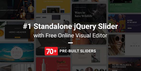 Master Slider jQuery Slider Plugin with Visual Builder