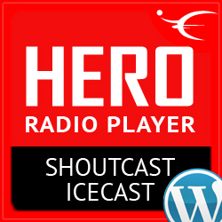 Hero Radio Player ShoutCast IceCast